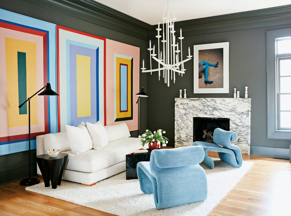 Bold-living-rooms. 70+ Hottest Colorful Living Room Decorating Ideas in 2021