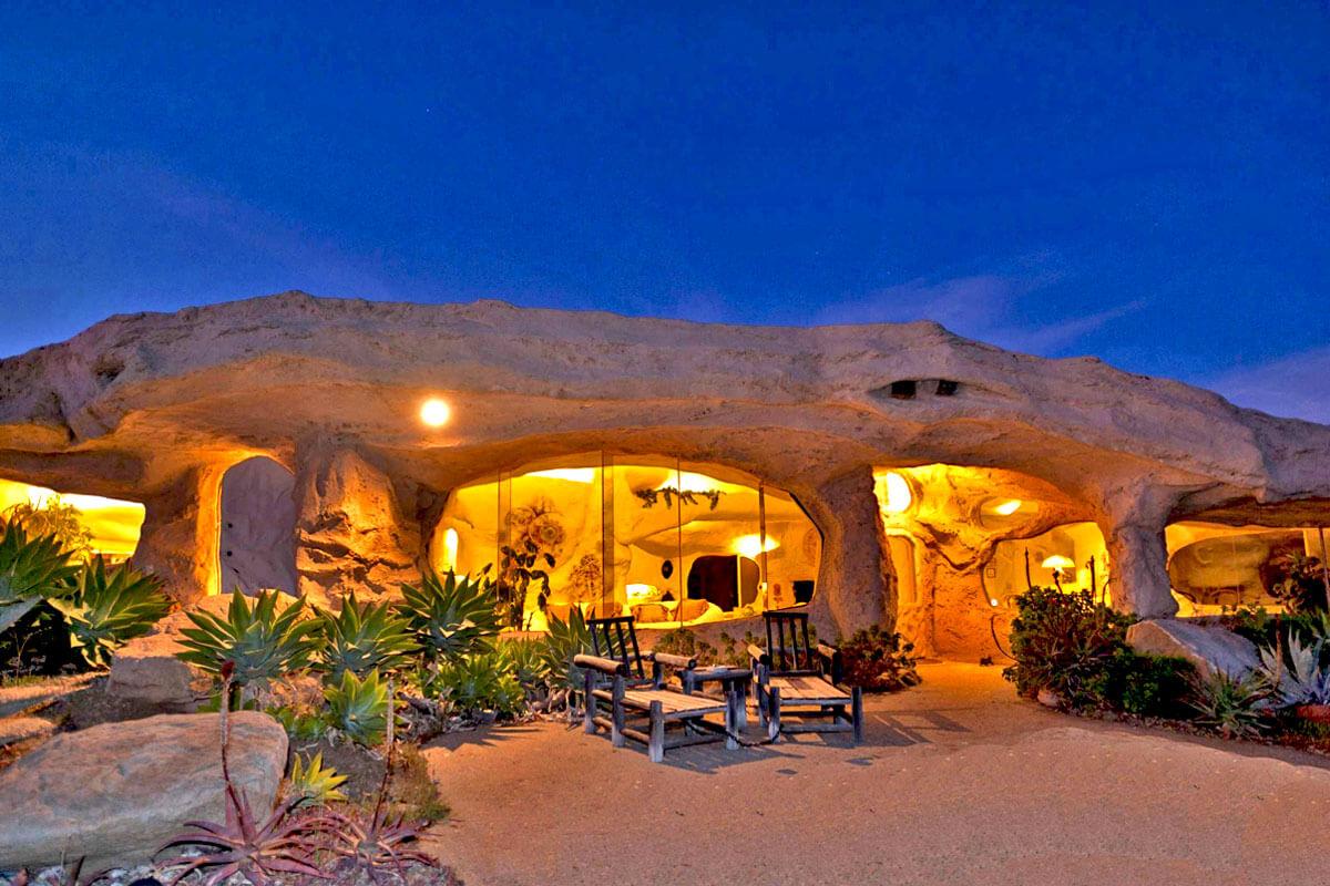 Flintstone-Cave-house Top 25 Strangest Houses around the World