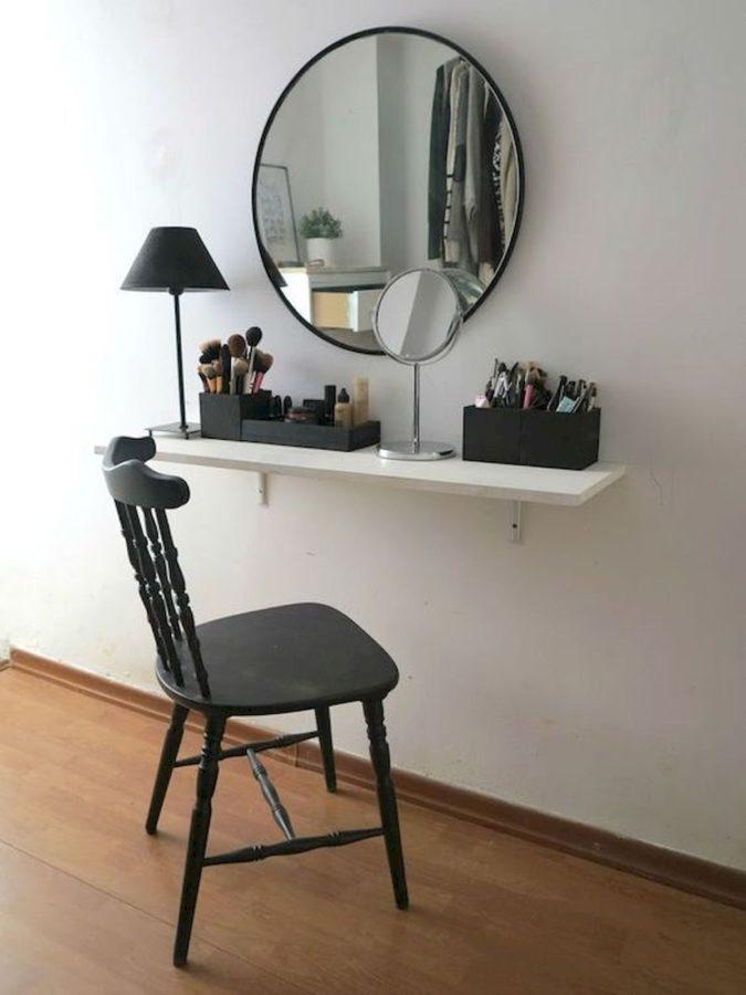 Floating-shelf.-2-675x900 Hottest 50+ Stylish Makeup Vanity Ideas