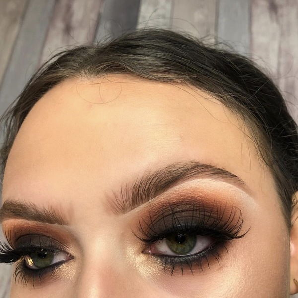 Gothic-Glamour-3 60+ Hottest Smokey Eye Makeup Looks in 2021