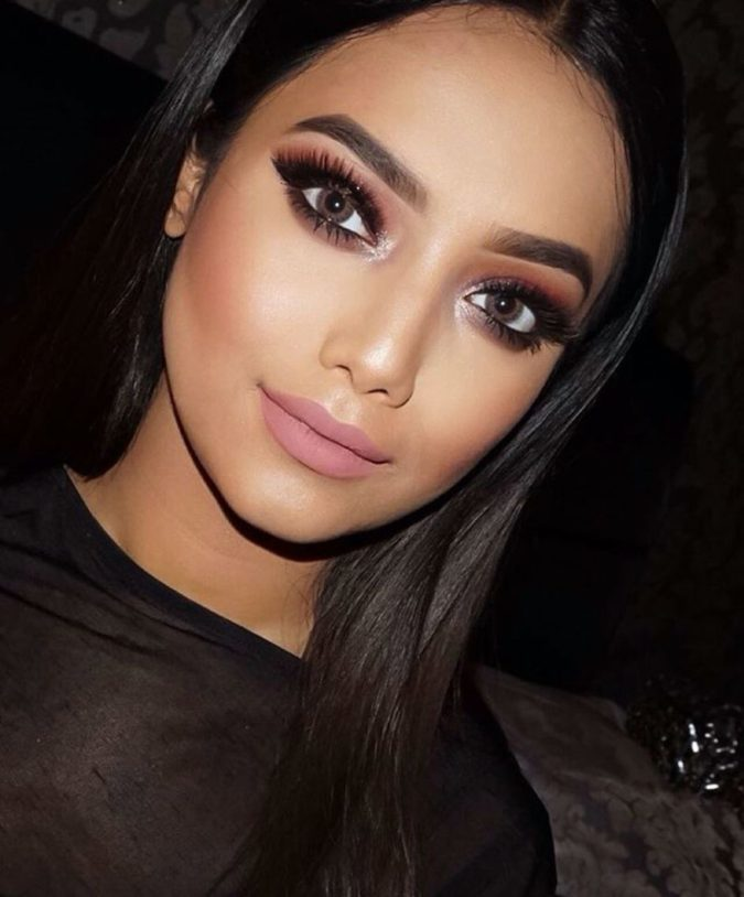 Gothic-Glamour..-675x814 60+ Hottest Smokey Eye Makeup Looks in 2021