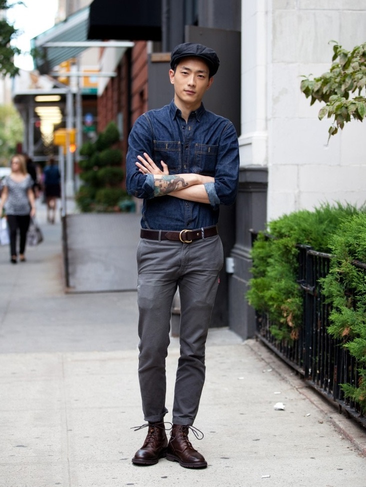 Hat-jean-shirt-and-trouser-3 120+ Fashion Trends and Looks for College Students in 2020/2021
