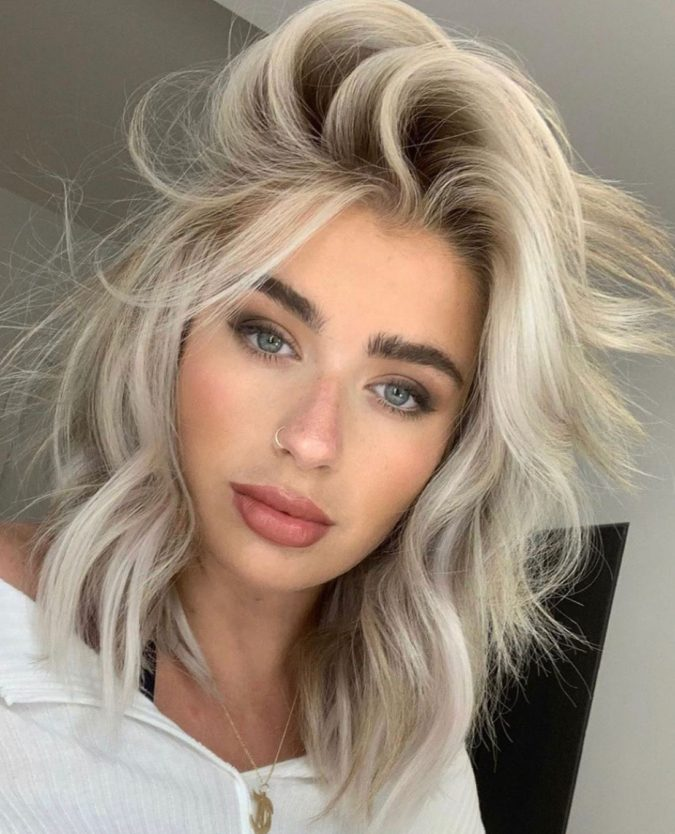 Icy-blonde.-1-675x834 Top 10 Hair Color Trends for Blonde Women in 2021