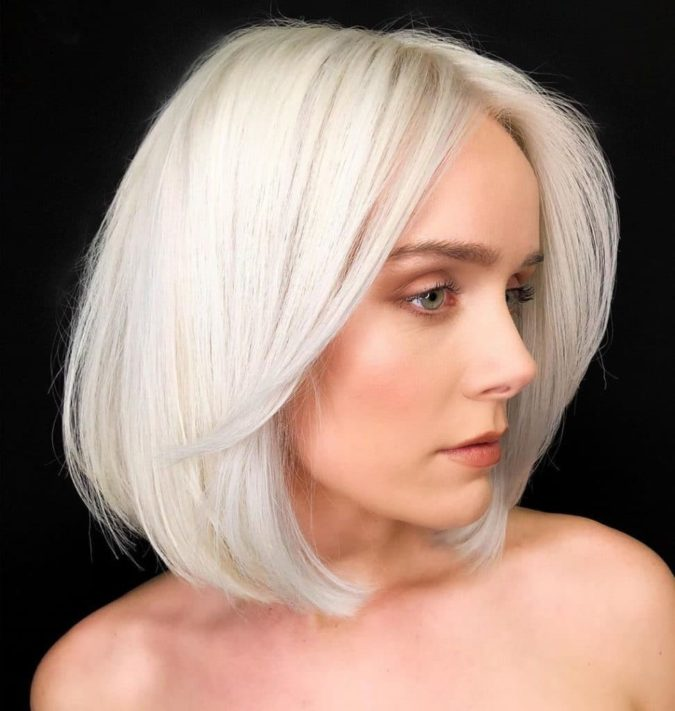 Icy-blonde..-675x711 Top 10 Hair Color Trends for Blonde Women in 2021