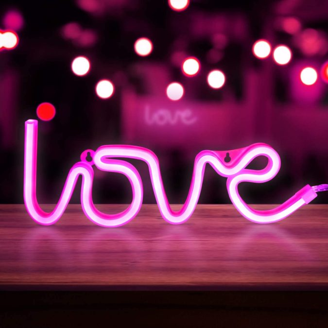 Light-bulbs-and-neon-light-675x675 20 Unexpected and Creative Gift Ideas for Best Friends