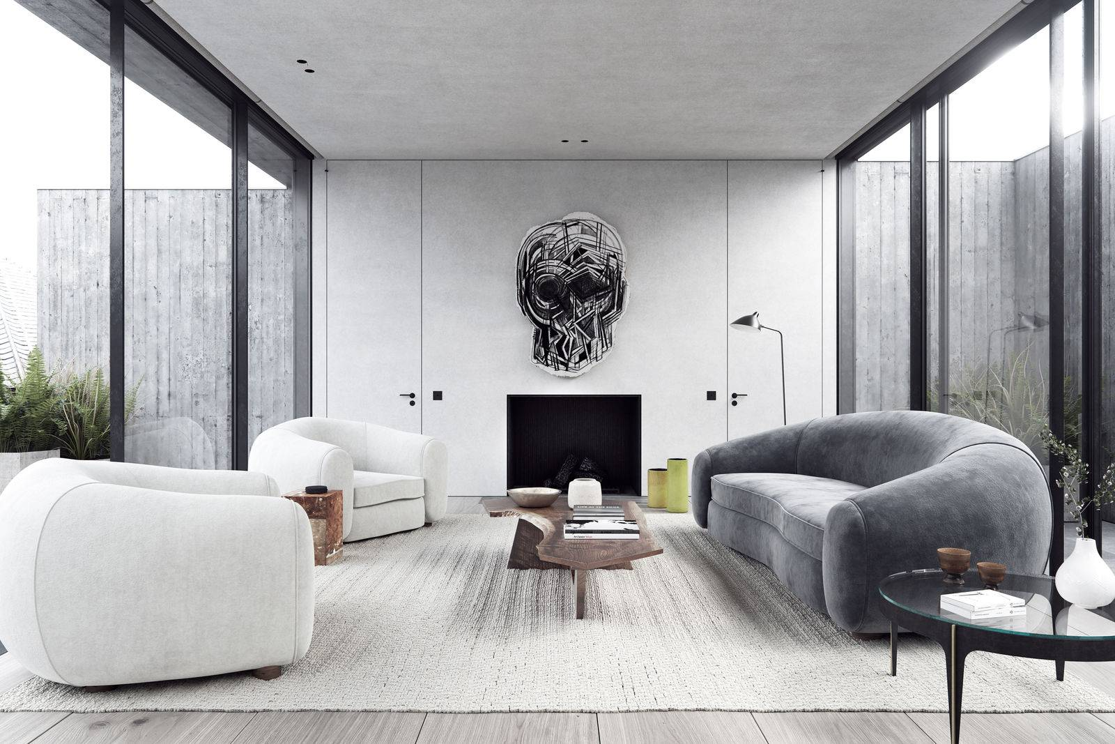 Minimal-living-1 70+ Hottest Colorful Living Room Decorating Ideas in 2021