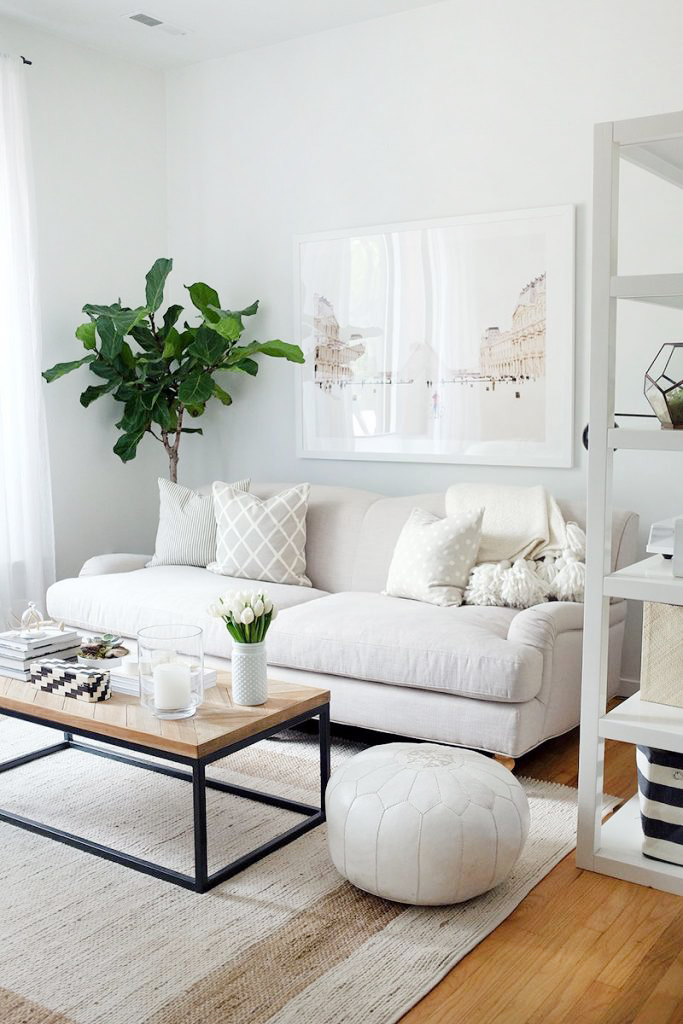 Minimal-living.-1 70+ Hottest Colorful Living Room Decorating Ideas in 2021