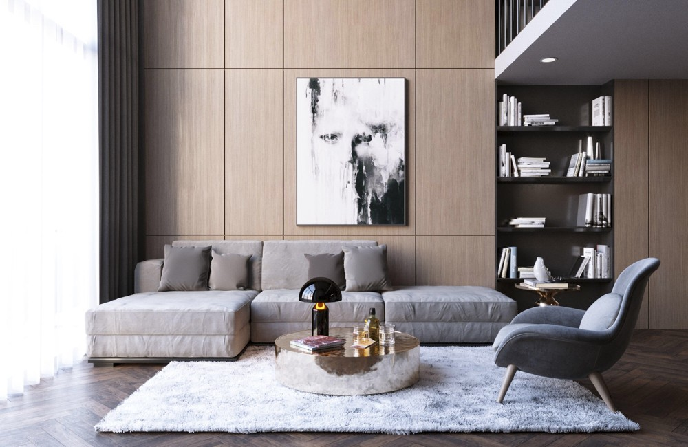 Modern-room-4 70+ Hottest Colorful Living Room Decorating Ideas in 2021