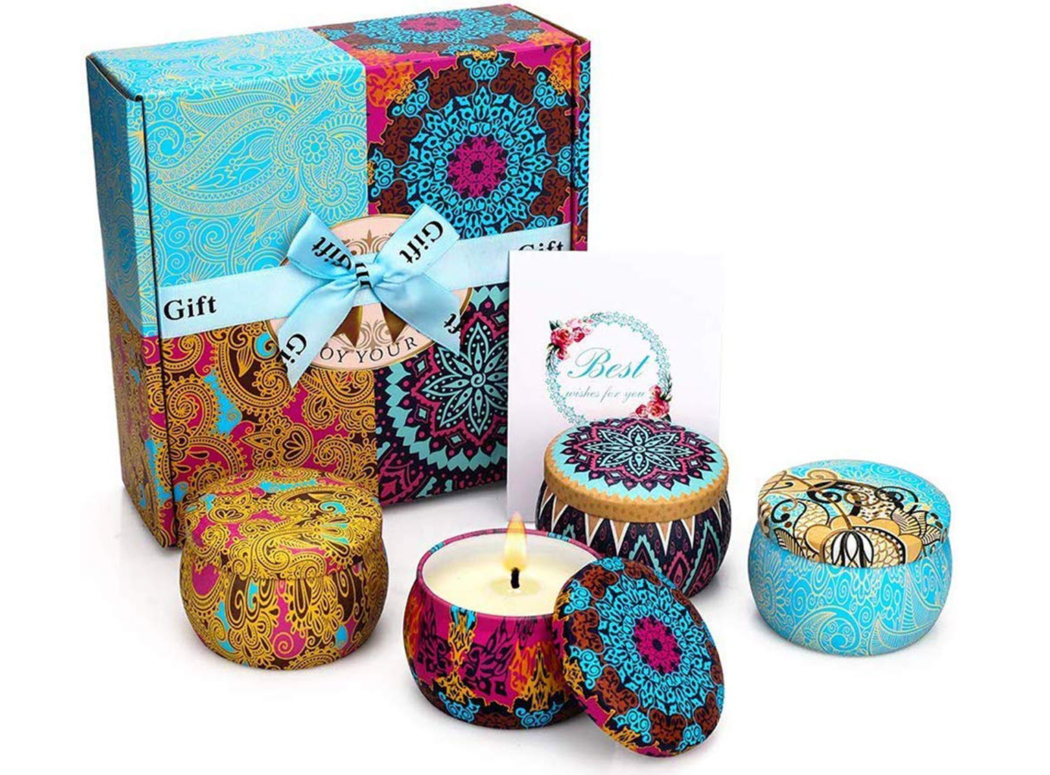 Scented-candles. 20 Unexpected and Creative Gift Ideas for Best Friends
