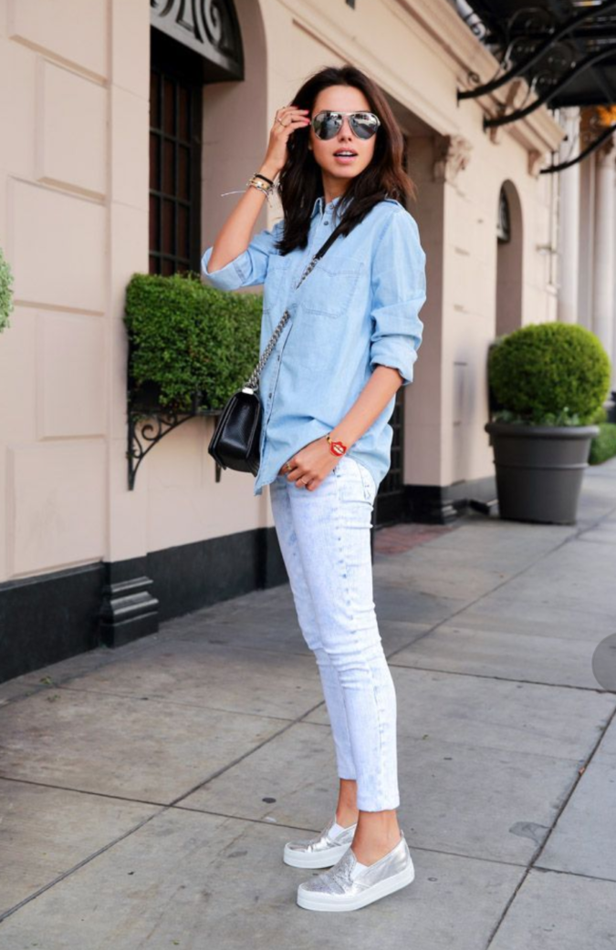 Simple-look-675x1042 120+ Fashion Trends and Looks for College Students in 2020/2021
