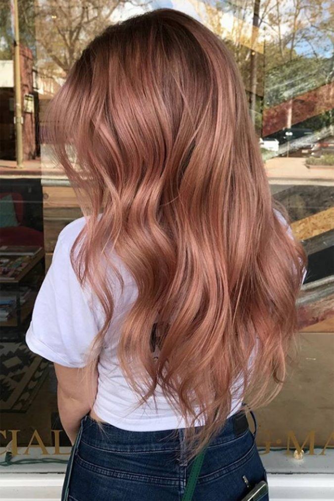 Strawberry-Blonde-3-675x1013 +35 Hottest Hair Color Trends for Dark-Skinned Women