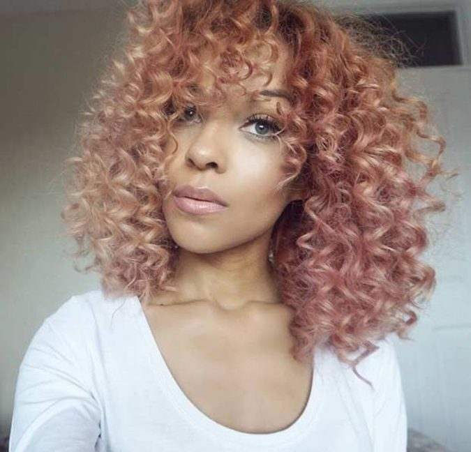 Strawberry-Blonde-4-675x648 +35 Hottest Hair Color Trends for Dark-Skinned Women