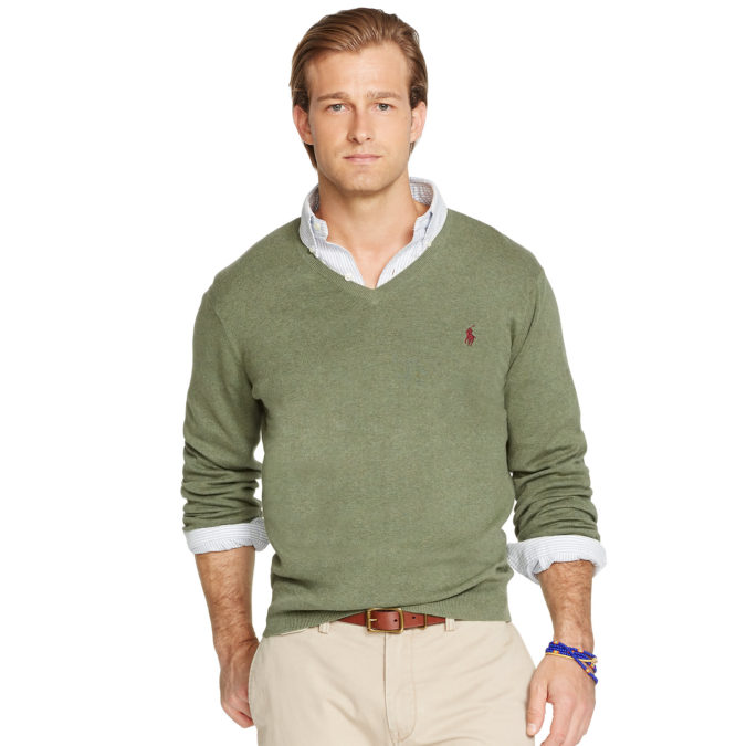 Sweater-and-long-sleeve-button-down-675x675 120+ Fashion Trends and Looks for College Students in 2020/2021