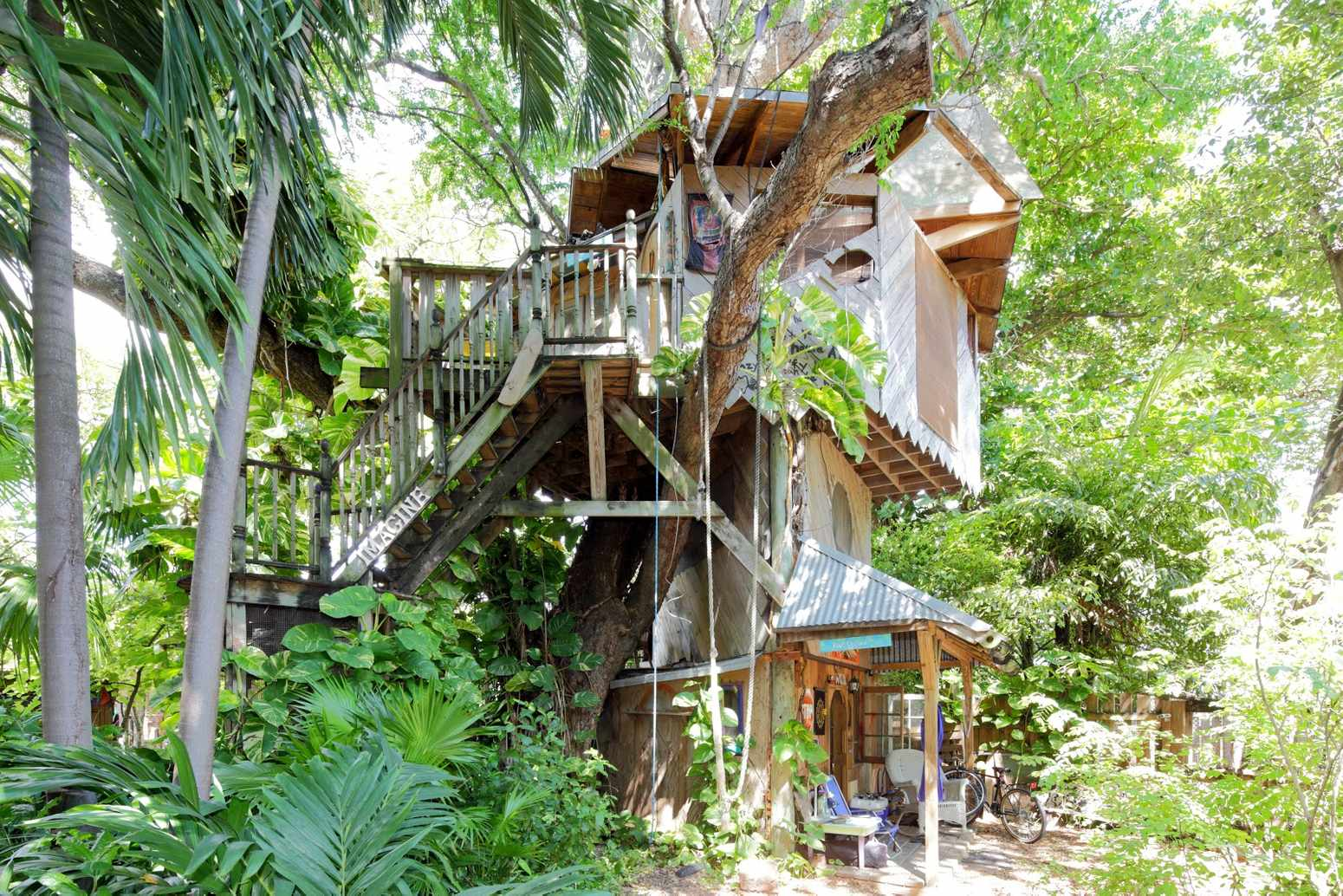 Tree-House-in-Florida Top 25 Strangest Houses around the World