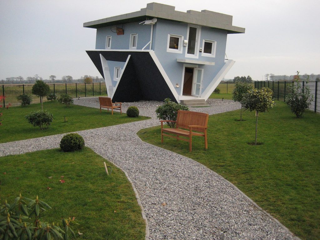 Upside-Down-House.-1024x768 Top 25 Strangest Houses around the World