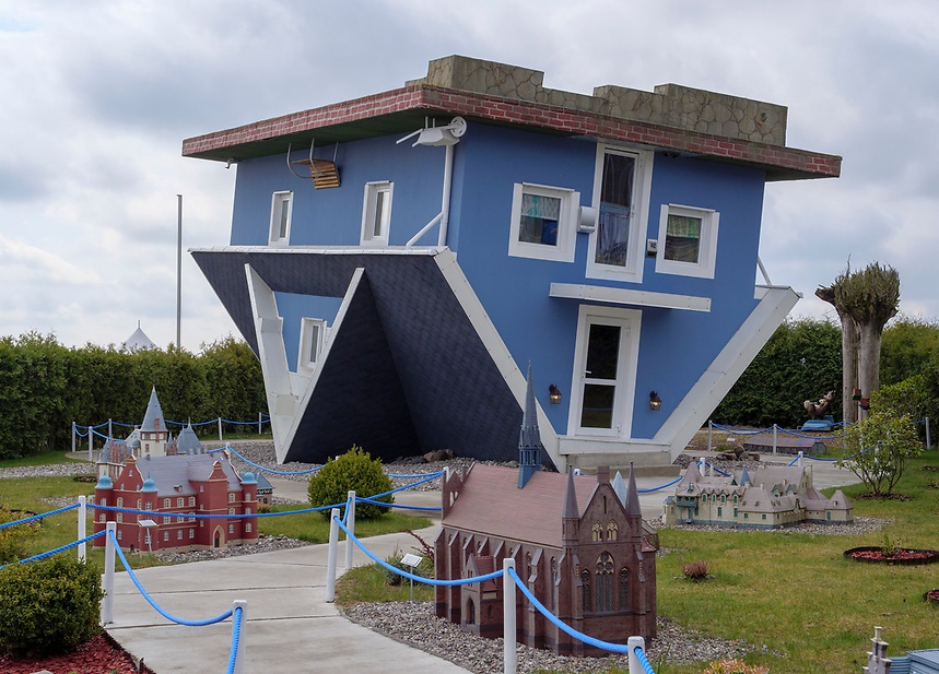 Upside-Down-House Top 25 Strangest Houses around the World