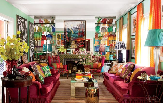 Vibrant-trim-1-675x425 70+ Hottest Colorful Living Room Decorating Ideas in 2021