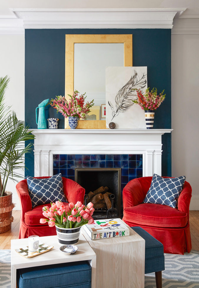 Vibrant-trim-living-room.-2-675x975 70+ Hottest Colorful Living Room Decorating Ideas in 2021