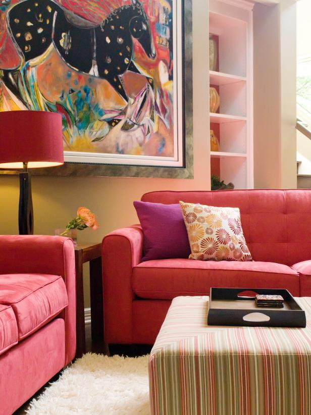 Vibrant-trim-living-room 70+ Hottest Colorful Living Room Decorating Ideas in 2021
