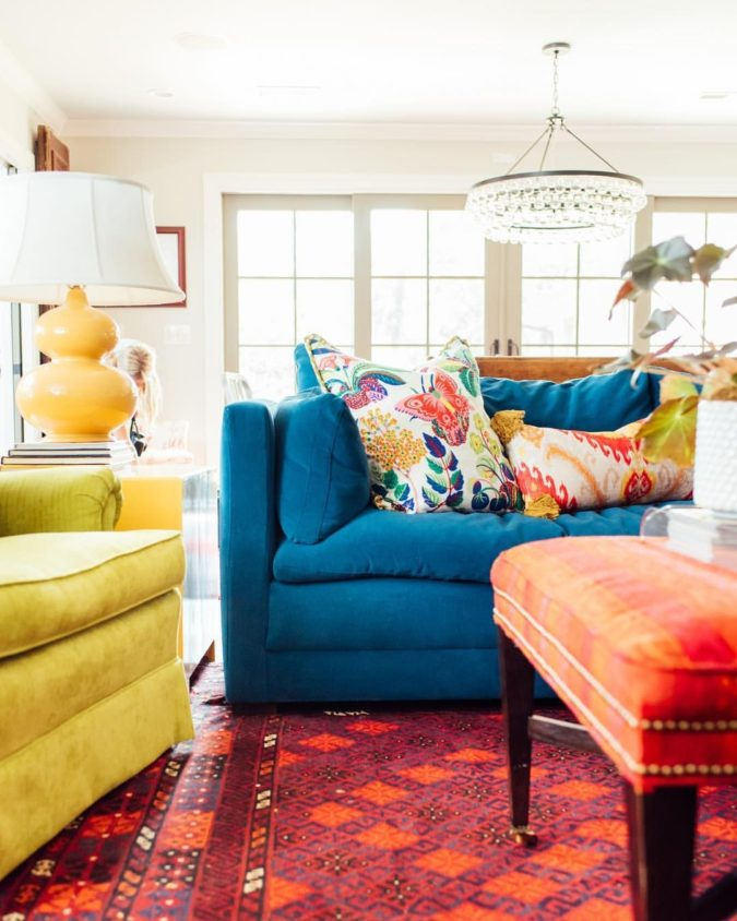 Vibrant-trim.-2-675x844 70+ Hottest Colorful Living Room Decorating Ideas in 2021