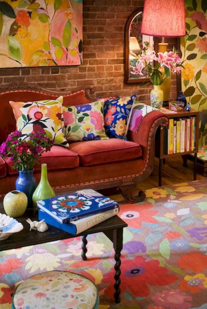 Vibrant-trim..-1-675x1010 70+ Hottest Colorful Living Room Decorating Ideas in 2021
