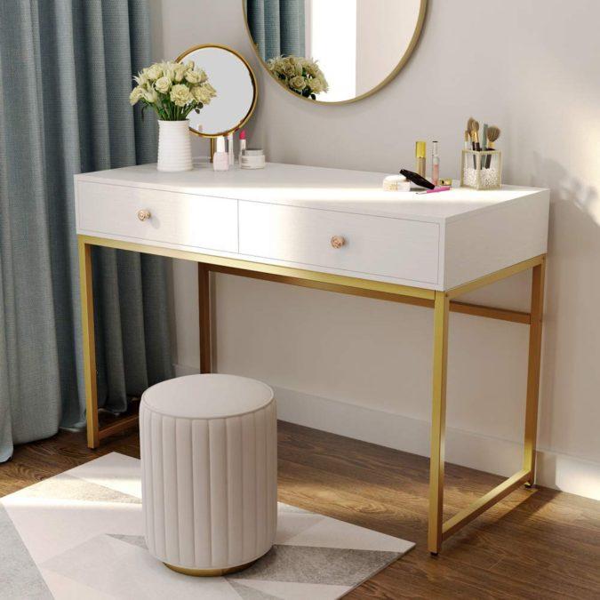 Workspace-desk--675x675 Hottest 50+ Stylish Makeup Vanity Ideas