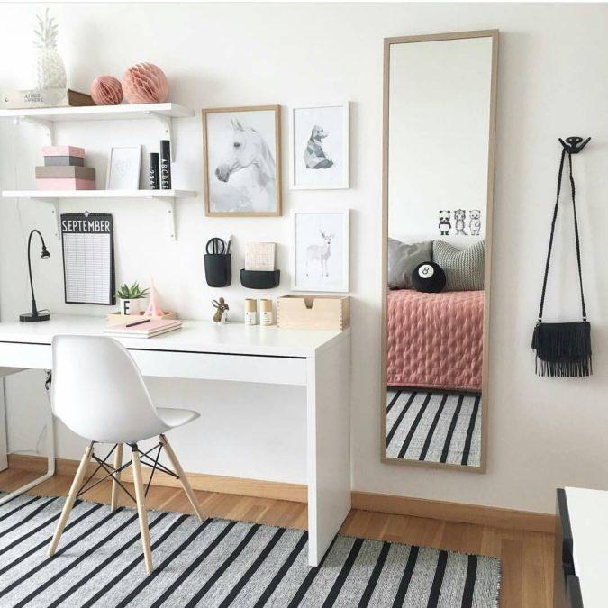 Workspace-desk-.-1-675x675 Hottest 50+ Stylish Makeup Vanity Ideas