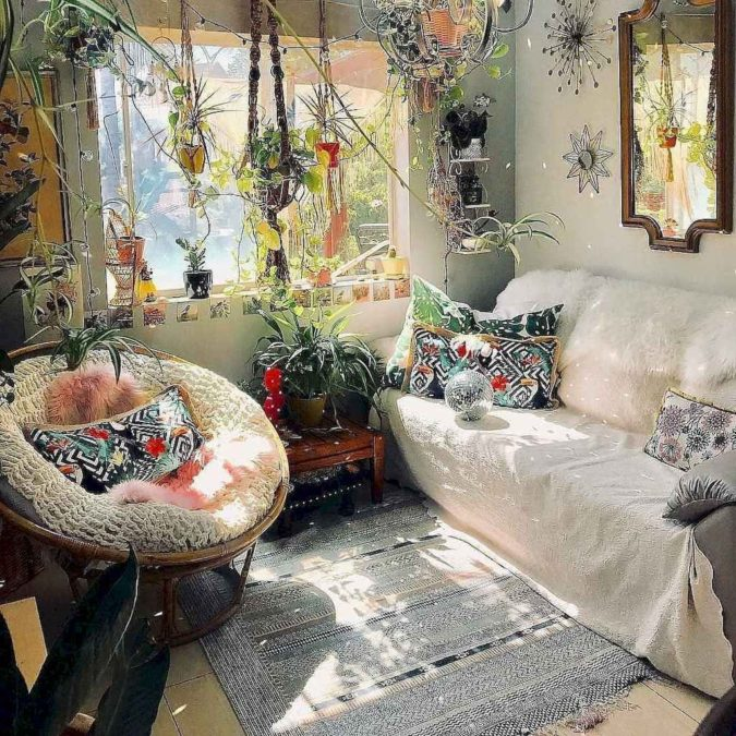 bohemian-living-rooms.-675x675 70+ Hottest Colorful Living Room Decorating Ideas in 2021