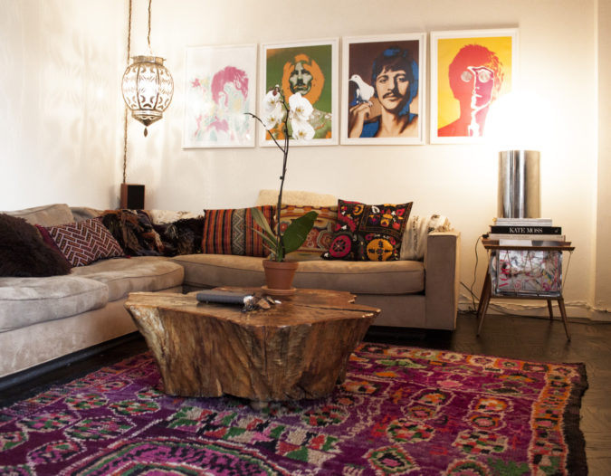 bohemian-living-rooms..-1-675x526 70+ Hottest Colorful Living Room Decorating Ideas in 2021