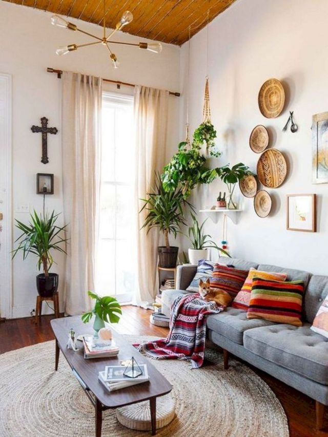 bohemian-living-rooms.. 70+ Hottest Colorful Living Room Decorating Ideas in 2021