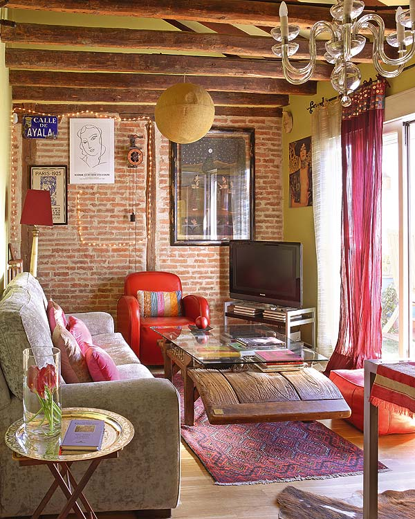 bohemian-living-rooms 70+ Hottest Colorful Living Room Decorating Ideas in 2021