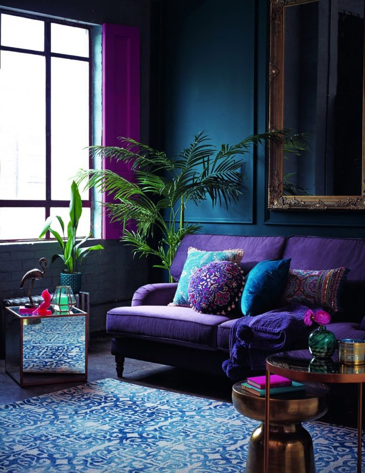 bold-1 70+ Hottest Colorful Living Room Decorating Ideas in 2021