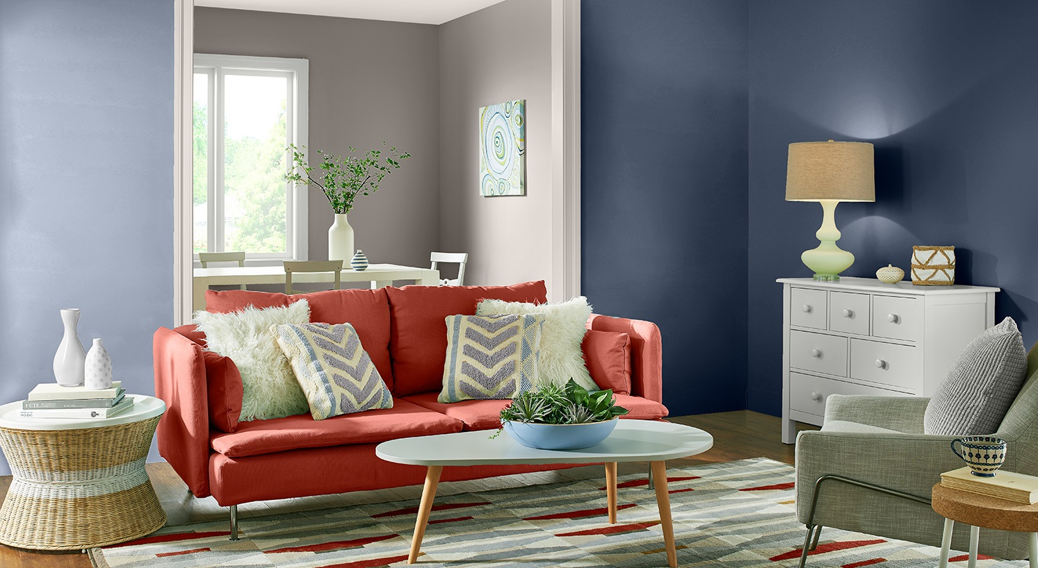 bold. 70+ Hottest Colorful Living Room Decorating Ideas in 2021