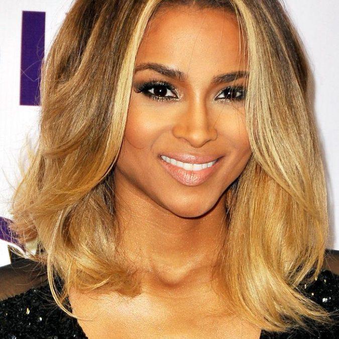 golden-blonde-2-675x675 +35 Hottest Hair Color Trends for Dark-Skinned Women