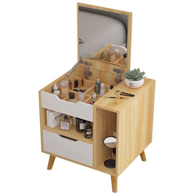 lift-top-vanity-table-1-675x675 Hottest 50+ Stylish Makeup Vanity Ideas