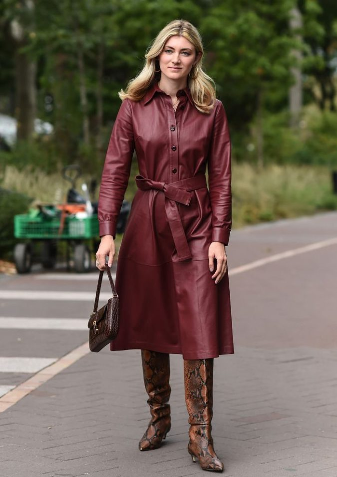 shirt-dress-675x957 What Women Should Wear for a Business Meeting [60+ Outfit Ideas]
