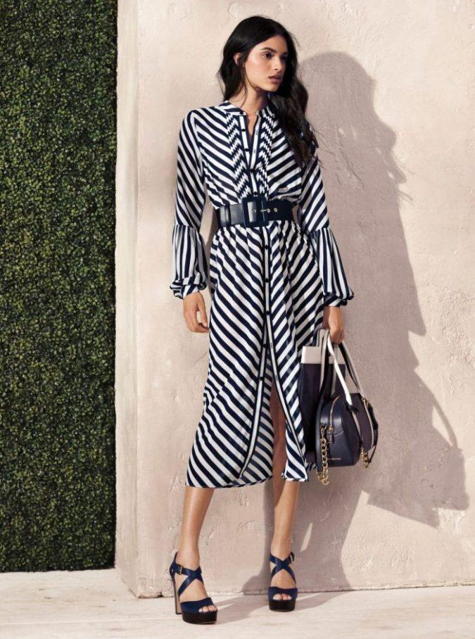 women-shirt-dress-675x908 What Women Should Wear for a Business Meeting [60+ Outfit Ideas]