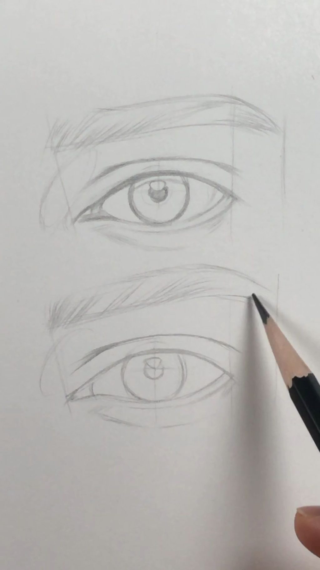 Avoid-being-hard-1024x1820 7 Tips to Draw Stunning Eyes