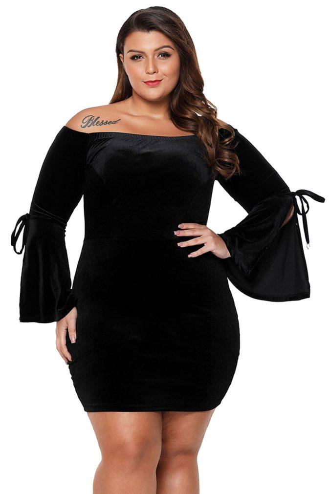 Bell-Sleeve-Dress.-675x1011 120 Splendid Women's Outfits for Evening Weddings