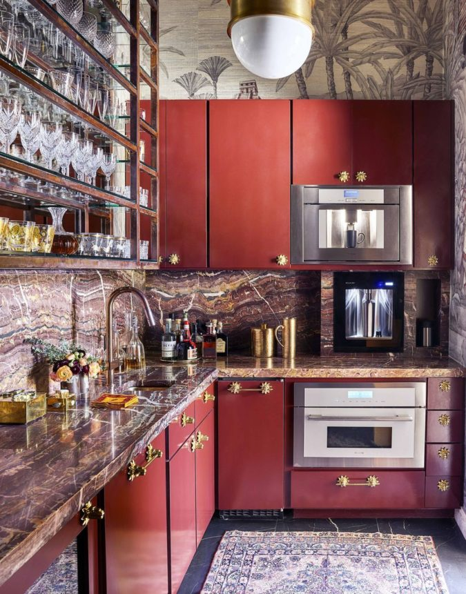 Built-in-items-675x861 100+ Smartest Storage Ideas for Small Kitchens in 2021