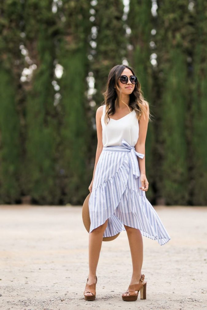 Camisole-and-a-skirt-1-675x1013 140 First-Date Outfit Ideas That Make You Special