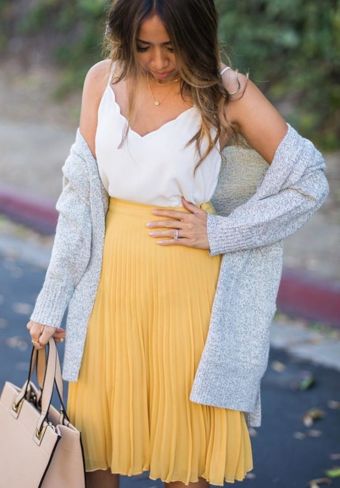 Camisole-and-a-skirt-675x969 140 First-Date Outfit Ideas That Make You Special