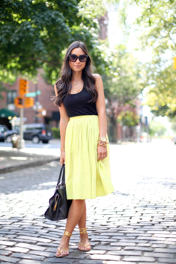 Camisole-and-a-skirt.-3 140 First-Date Outfit Ideas That Make You Special