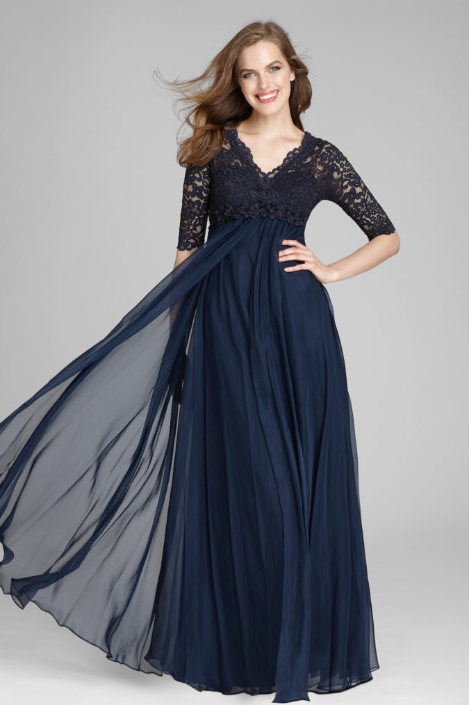 Chiffon-gown.-1-675x1013 120 Splendid Women's Outfits for Evening Weddings