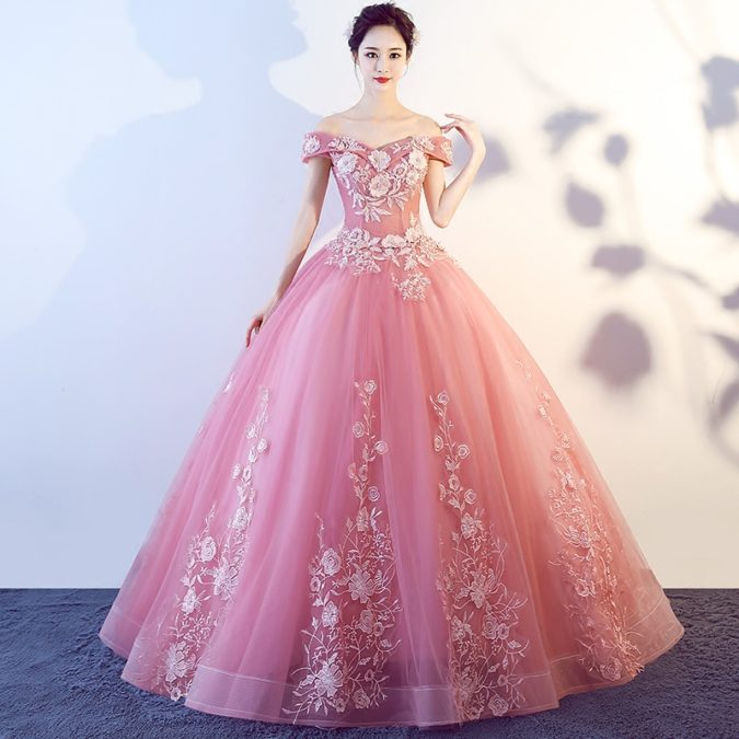 Cinderella-gown-2-675x675 120 Splendid Women's Outfits for Evening Weddings