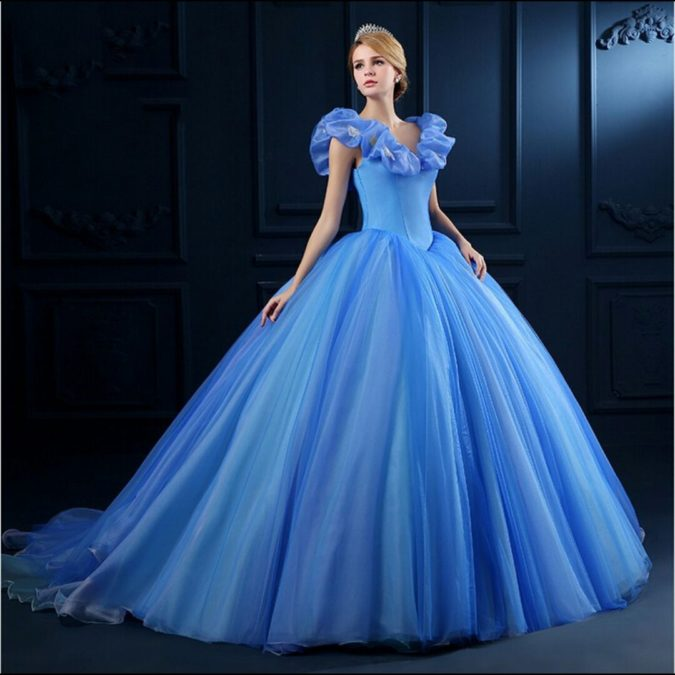 Cinderella-gown.-675x675 120 Splendid Women's Outfits for Evening Weddings