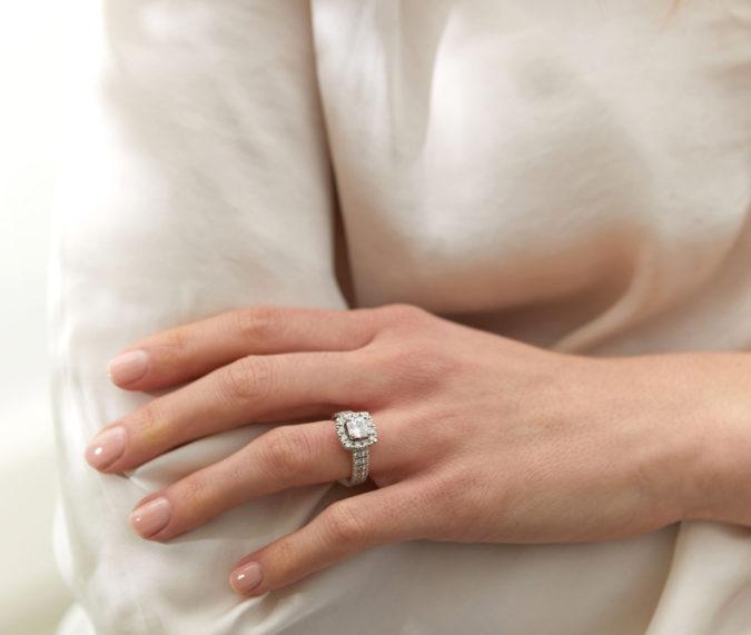 CleanOrigin_Nova-Halo-Ring-675x571 Cushion Cut Diamonds vs. Radiant Cut Diamonds
