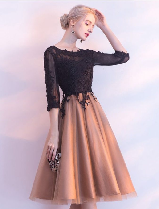 Cocktail-dressثسو-2-675x886 120 Splendid Women's Outfits for Evening Weddings
