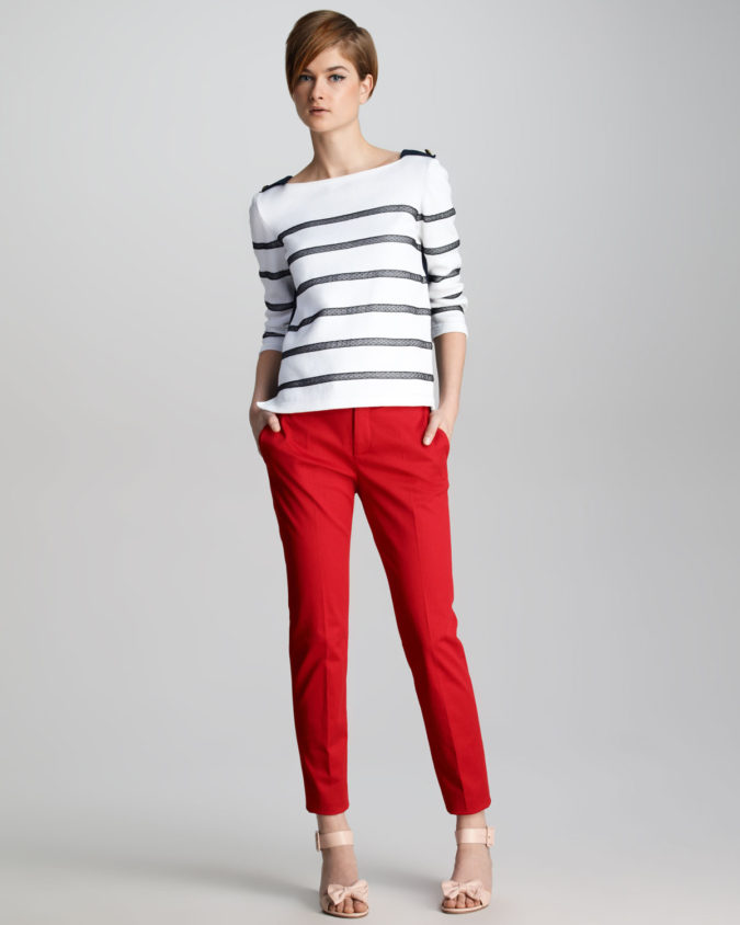 Colored-pants-675x844 140 First-Date Outfit Ideas That Make You Special