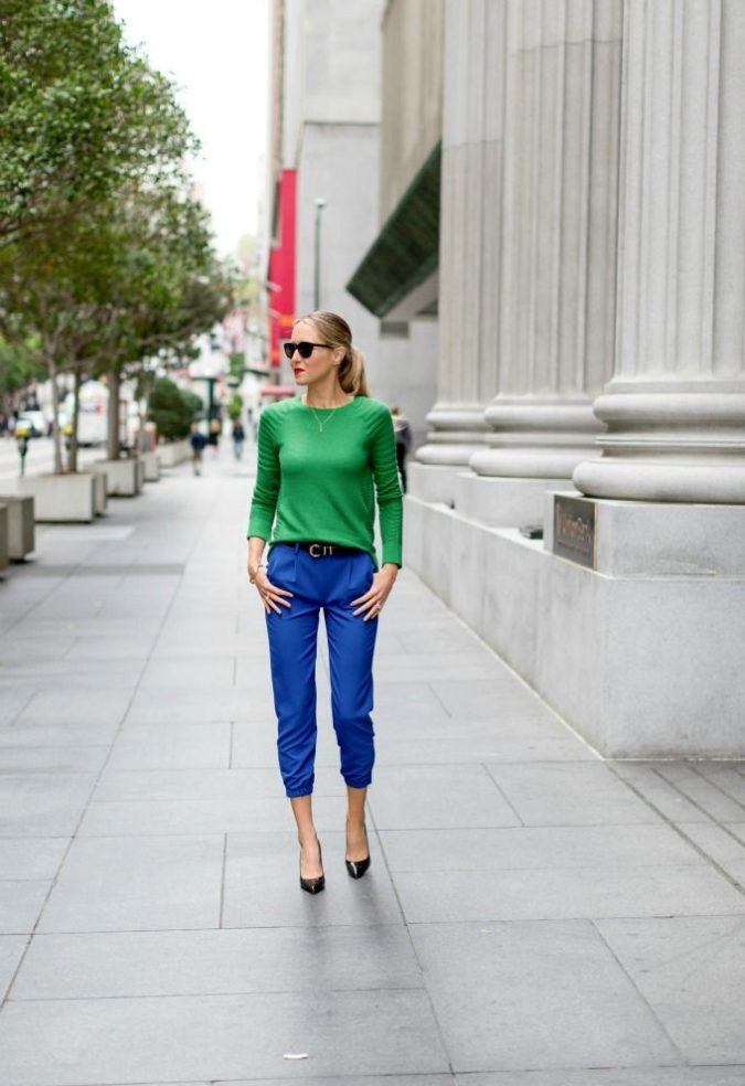 Colored-pants.-2-675x984 140 First-Date Outfit Ideas That Make You Special